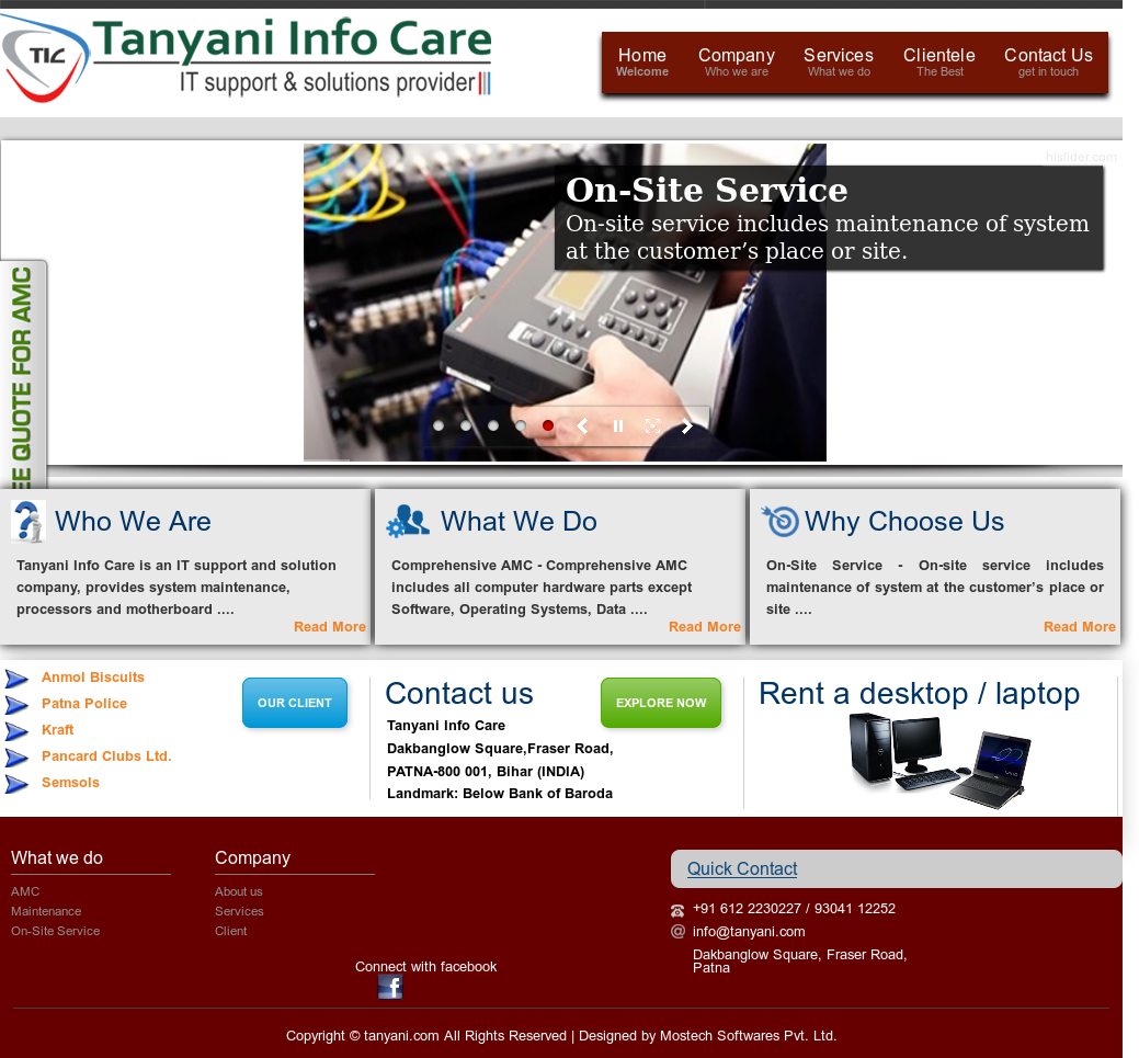 Tanyani Info Care Competitors, Revenue and Employees - Owler Company