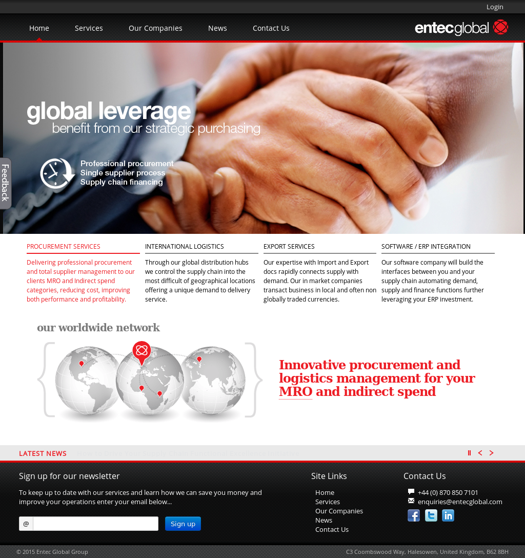 Entec Global Group Competitors, Revenue and Employees