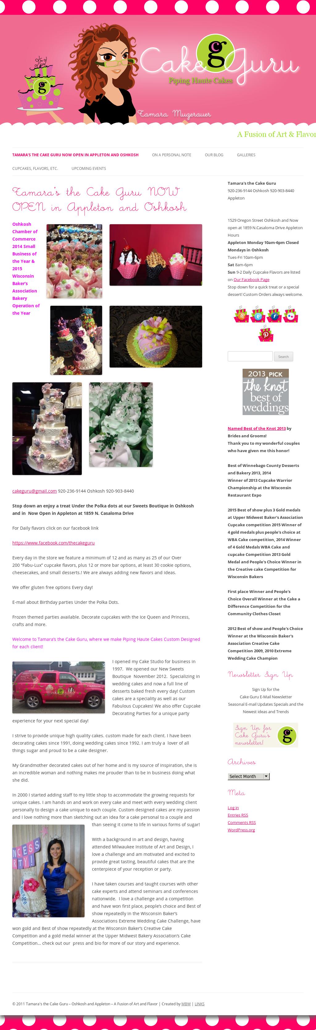 Tamara's Cakes Competitors, Revenue and Employees - Owler