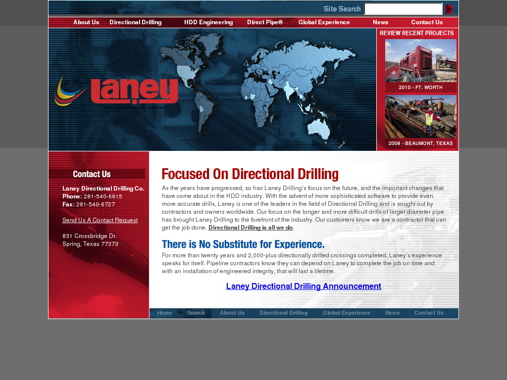 Laney Directional Drilling Competitors, Revenue and