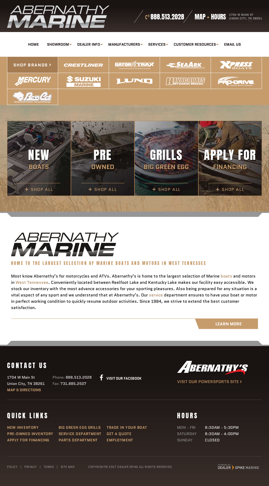 Abernathy's Marine Competitors, Revenue and Employees