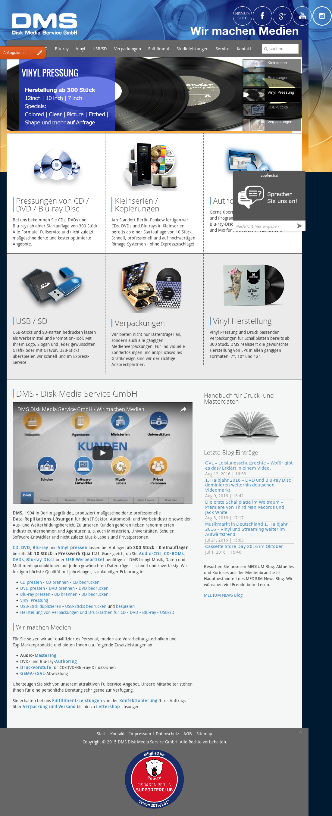 Dms Disk Media Service Competitors, Revenue and Employees - Owler ...