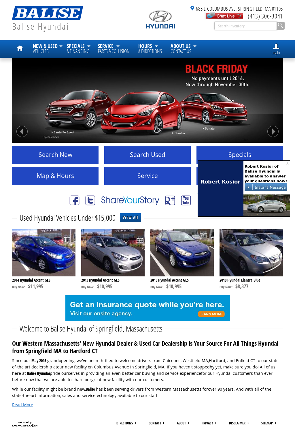 Balise Hyundai Springfield Competitors, Revenue And Employees   Owler  Company Profile