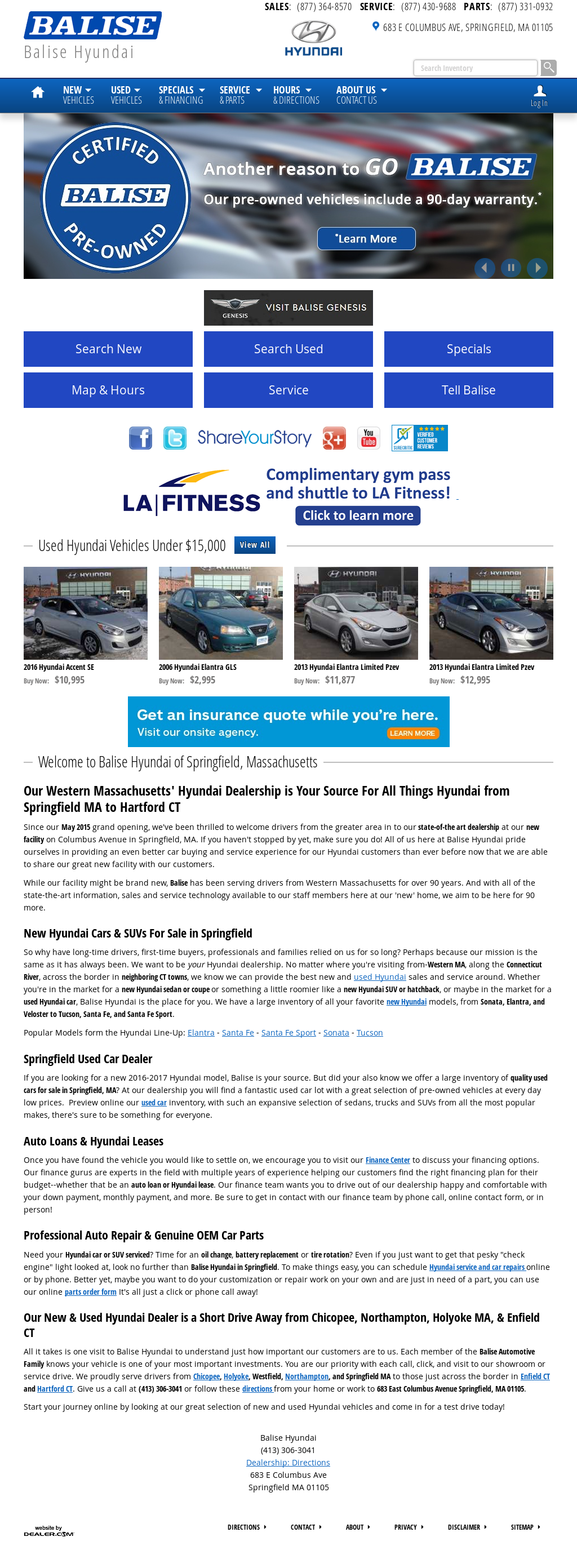 Exceptional Balise Hyundai Springfield Competitors, Revenue And Employees   Owler  Company Profile