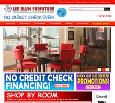 Lee Blum Furniture Website History