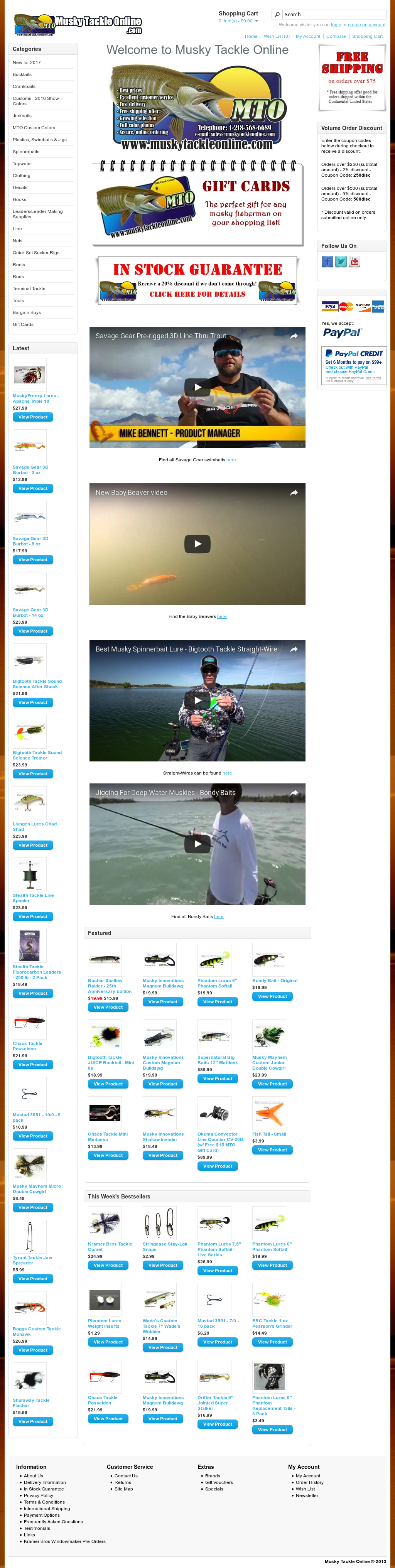 Musky Tackle Online Competitors, Revenue and Employees - Owler