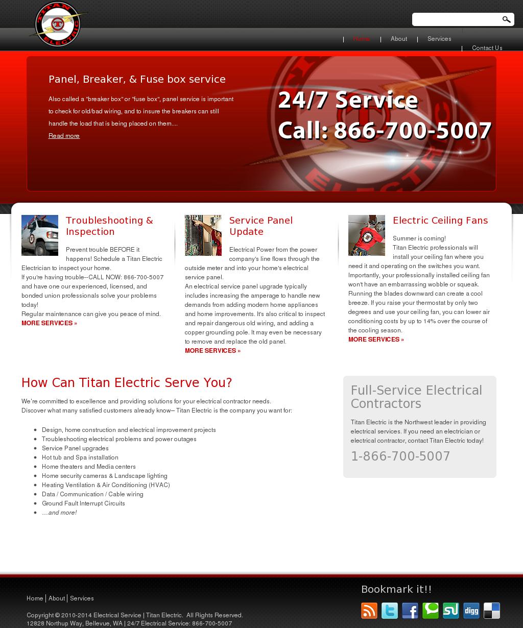 Titanelectricalservice Competitors Revenue And Employees Owler Titan 2010 Fuse Box Company Profile