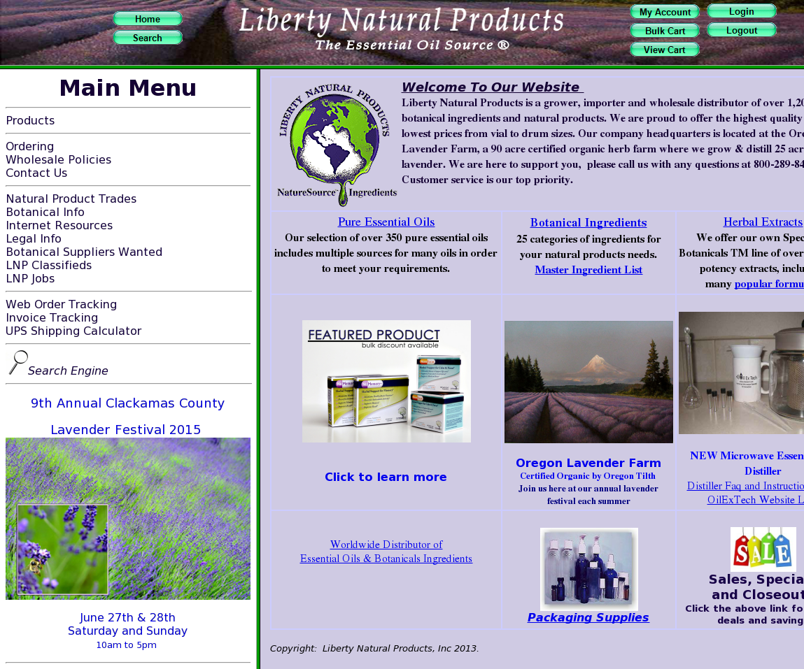 Liberty Natural Products Competitors, Revenue and Employees