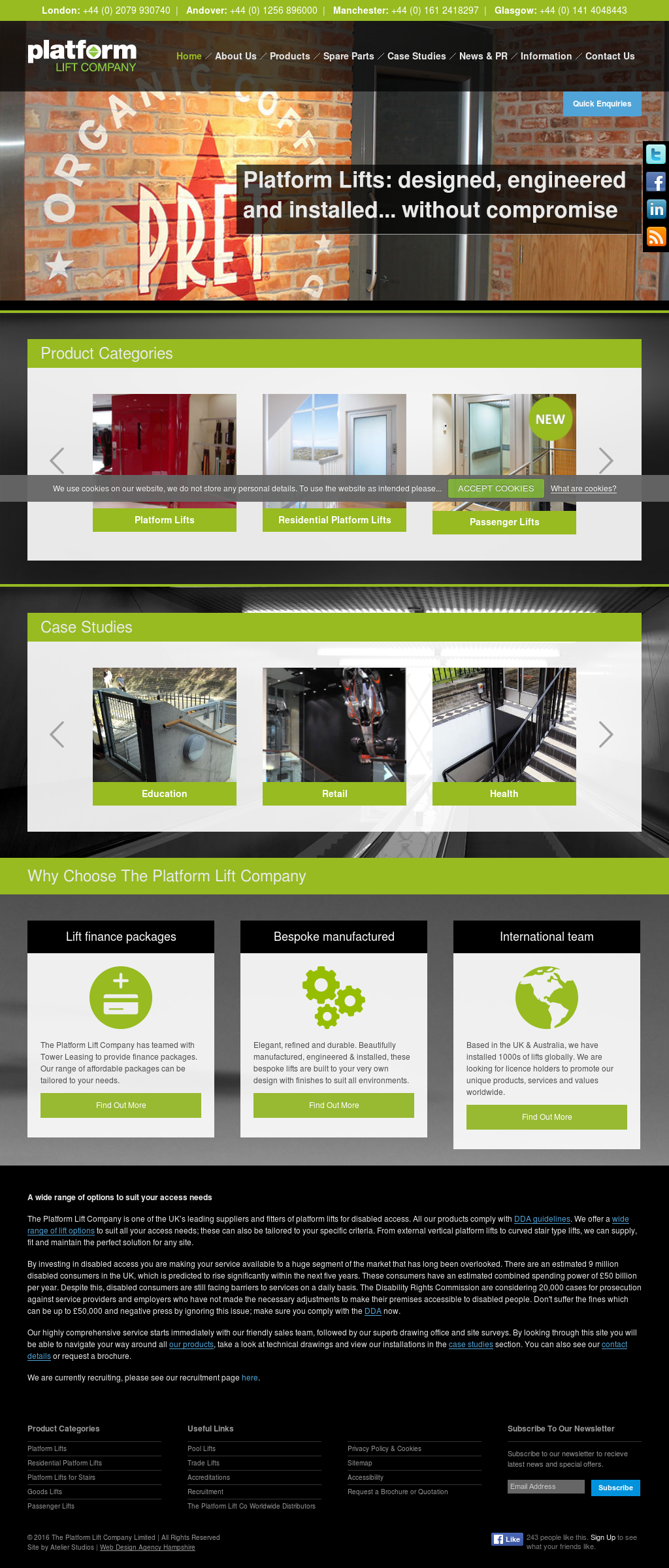 The Platform Lift Company Competitors Revenue And Employees Owler Company Profile