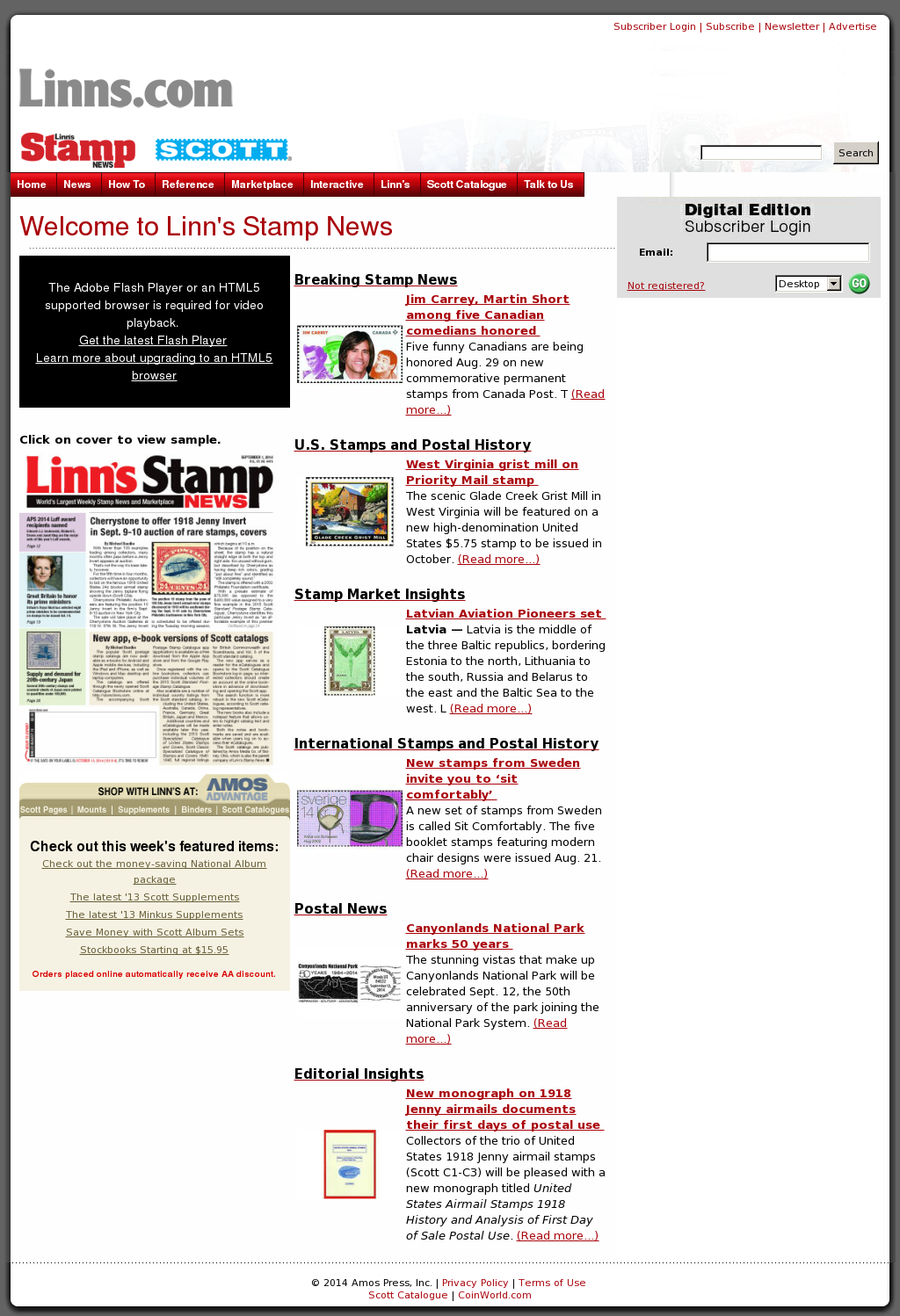 Linn's Stamp News Competitors, Revenue and Employees - Owler Company