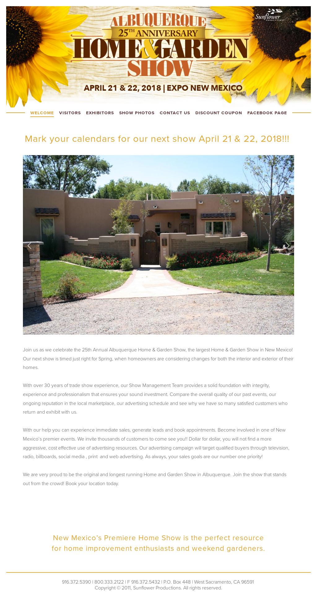 albuquerque home garden show competitors revenue and employees