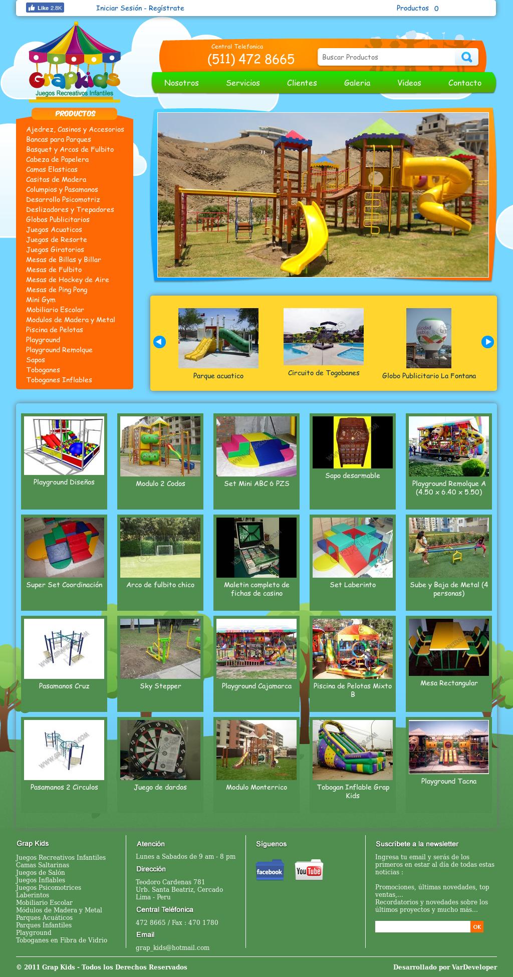 Juegos Recreativos Grap Kids Competitors Revenue And Employees