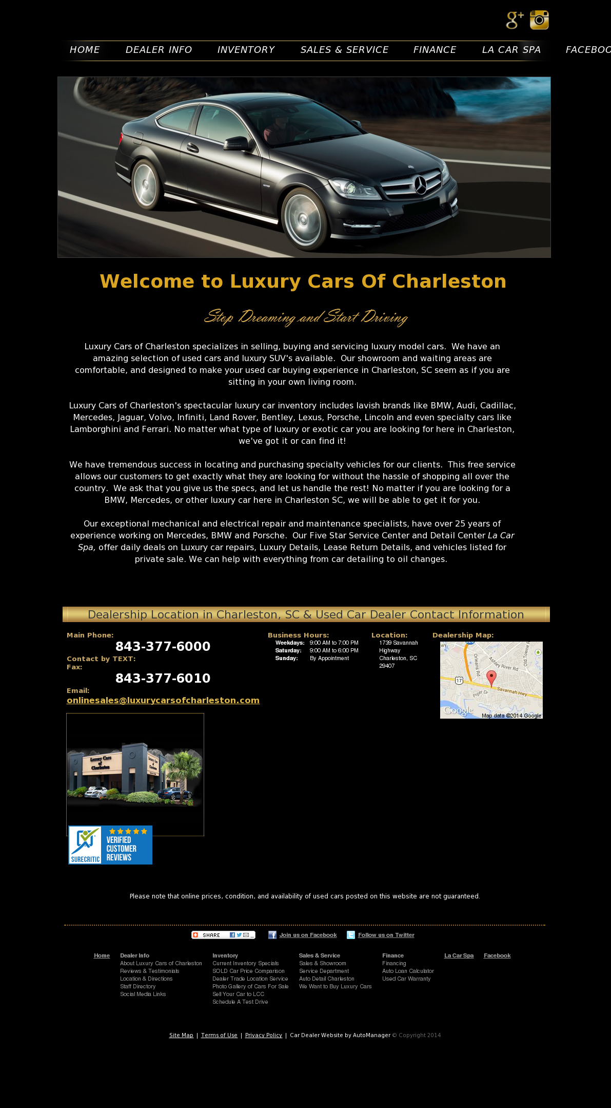Luxury Cars Of Charleston >> Charleston Luxury Cars Competitors Revenue And Employees
