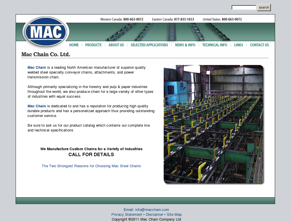 Mac Chain Competitors, Revenue and Employees - Owler Company