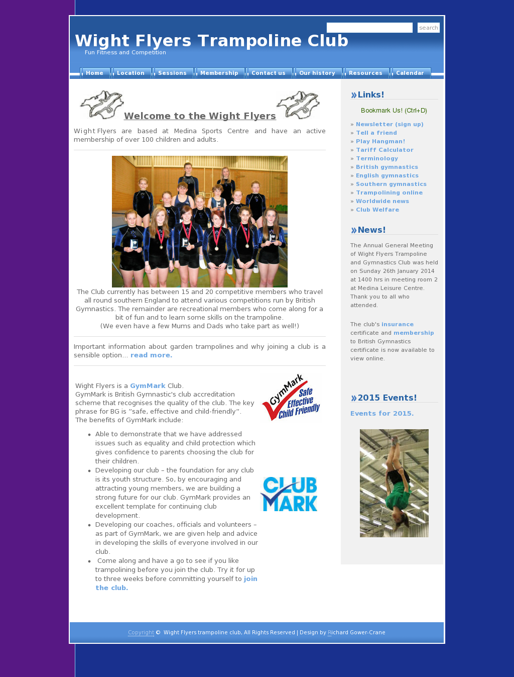 wight flyers trampoline club competitors revenue and employees