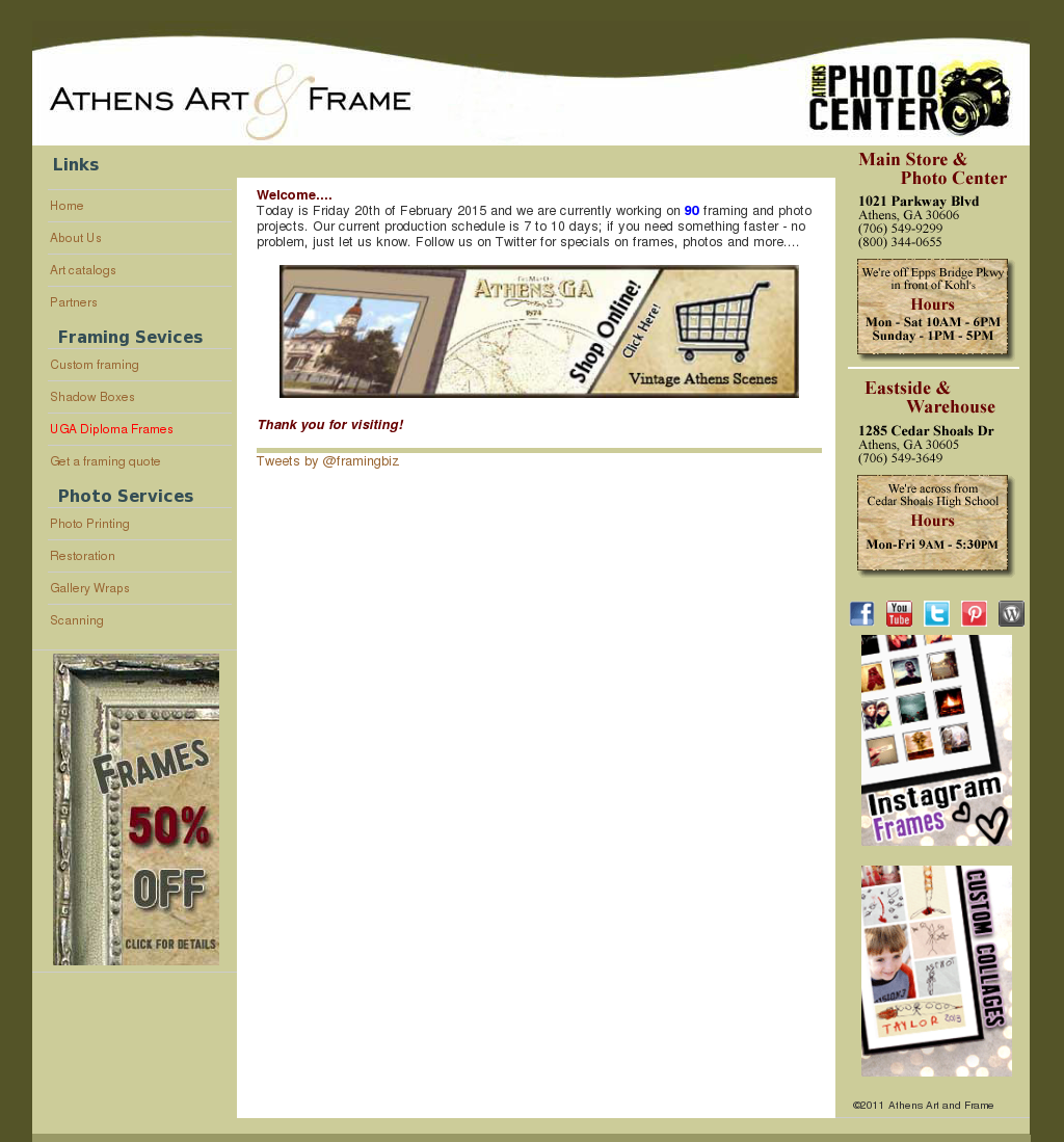 Athens Art And Frame Competitors, Revenue and Employees - Owler ...
