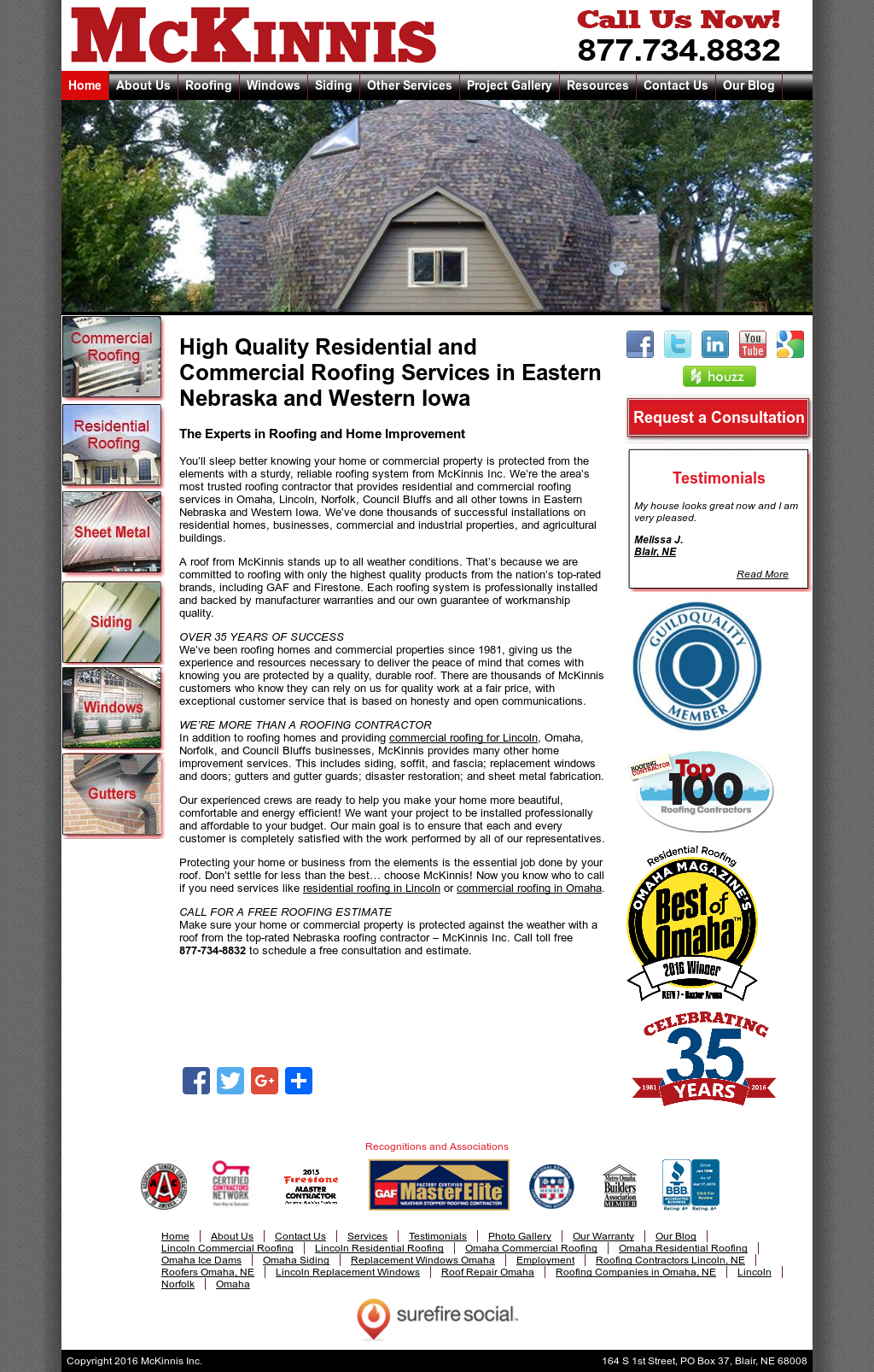 Mckinnis Roofing Compeors Revenue And Employees Owler Company Profile