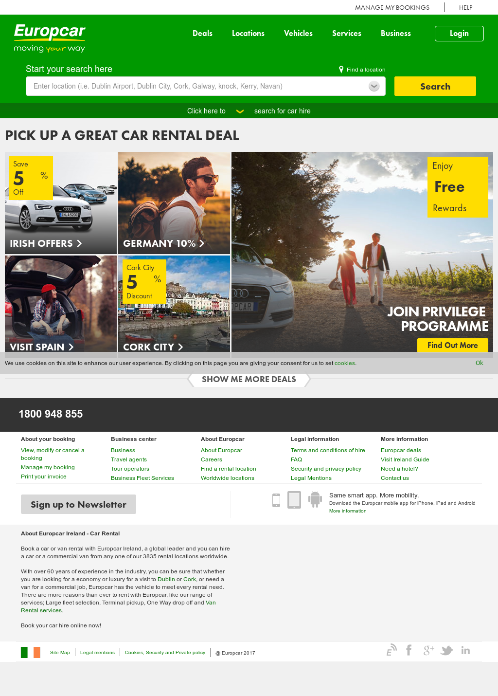 Europcar Ireland Competitors Revenue And Employees Owler Company