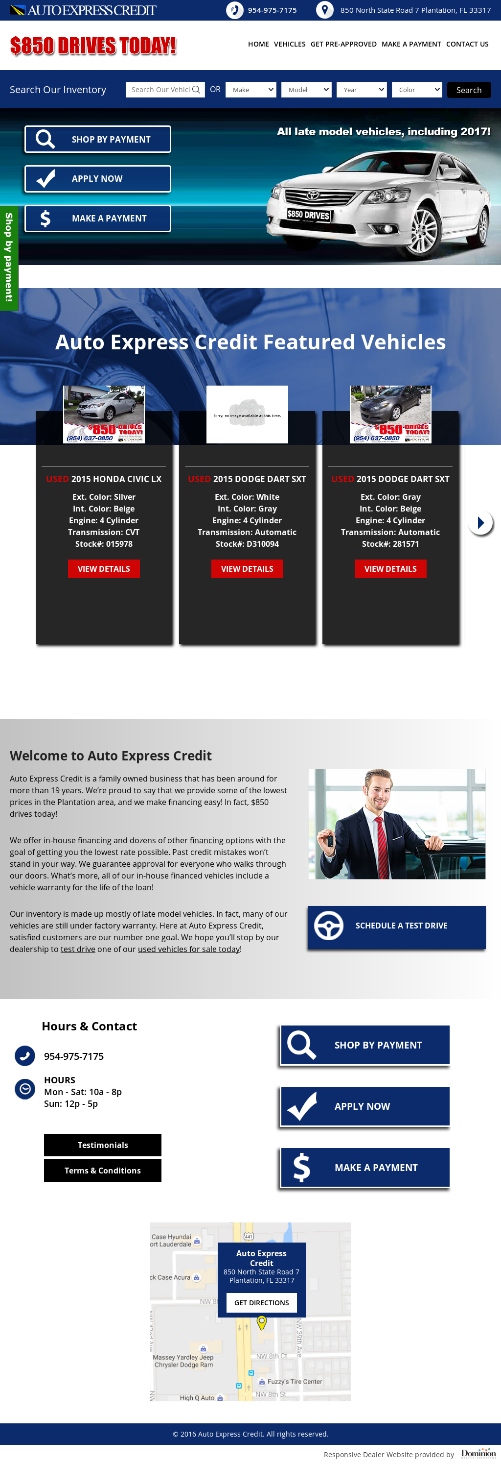 Auto Express Credit Competitors Revenue And Employees