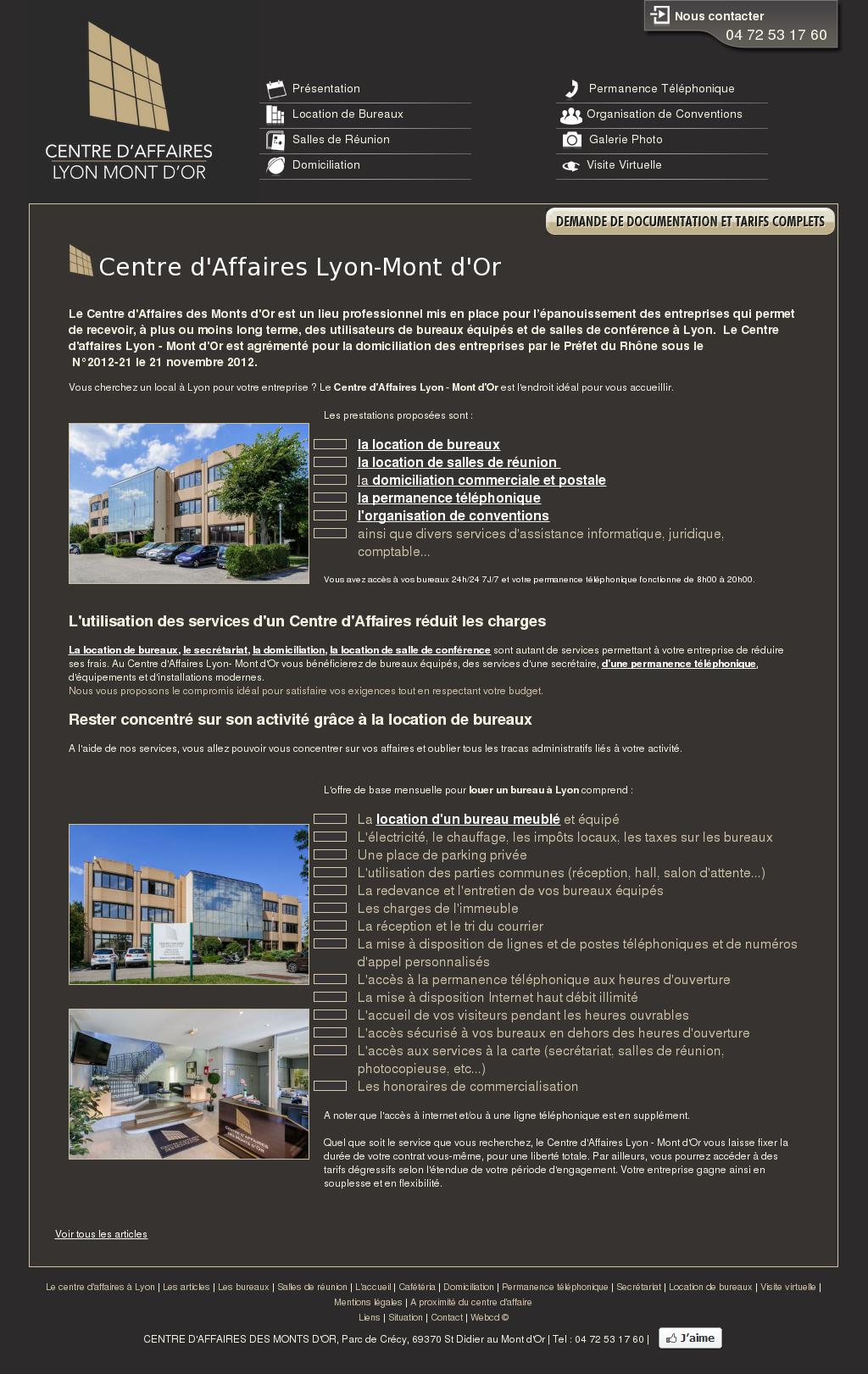 Entreprise D Architecture Lyon centre d'affaires lyon mont d'or competitors, revenue and