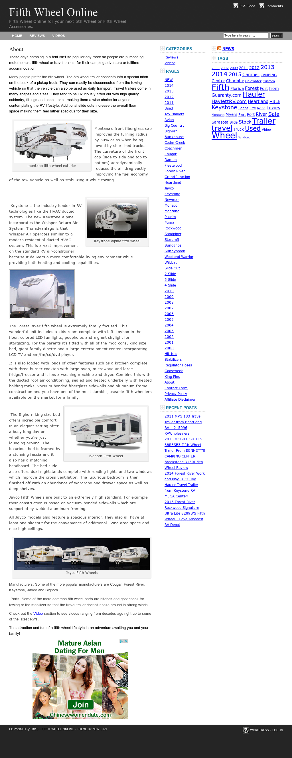 Fifth Wheel Online Competitors, Revenue and Employees