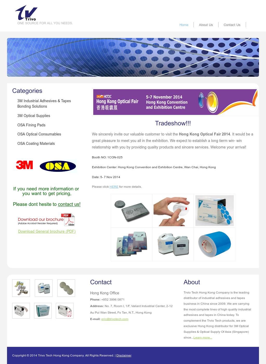 Trivo Tech Hong Kong Company Competitors, Revenue and