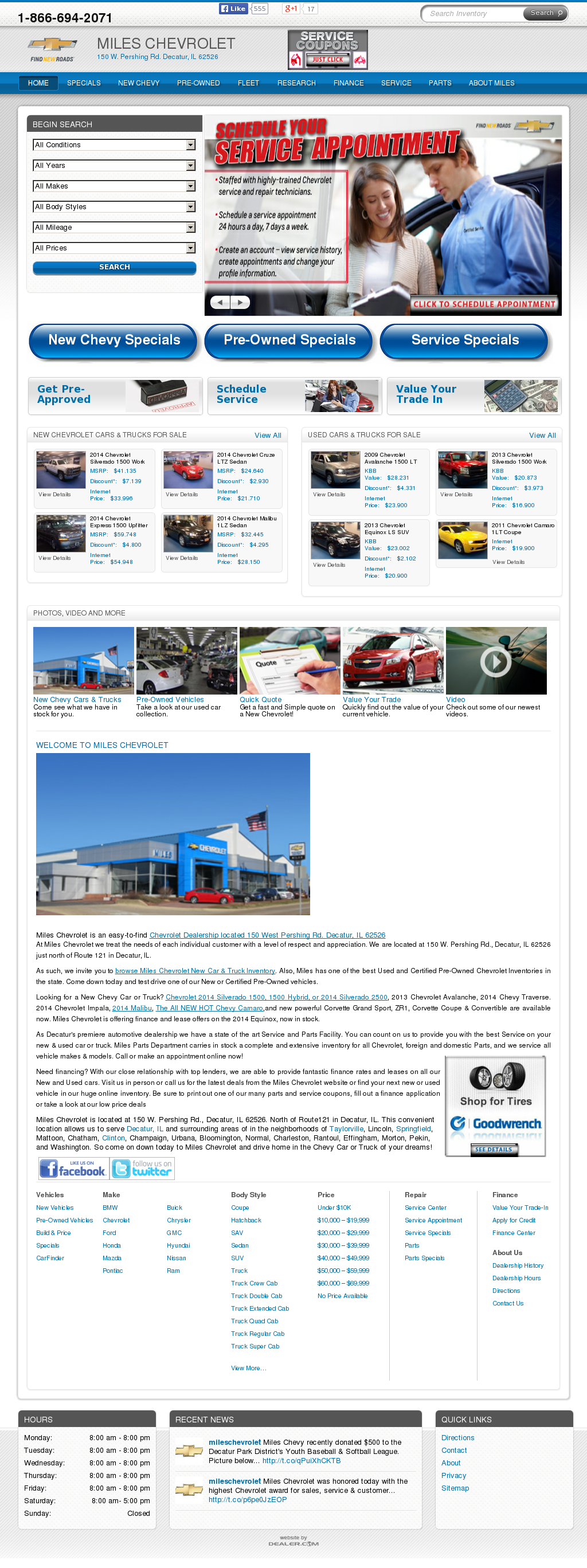 decatur repair service in full repairpal best shops and il chevrolet illinois arthur miles atwood