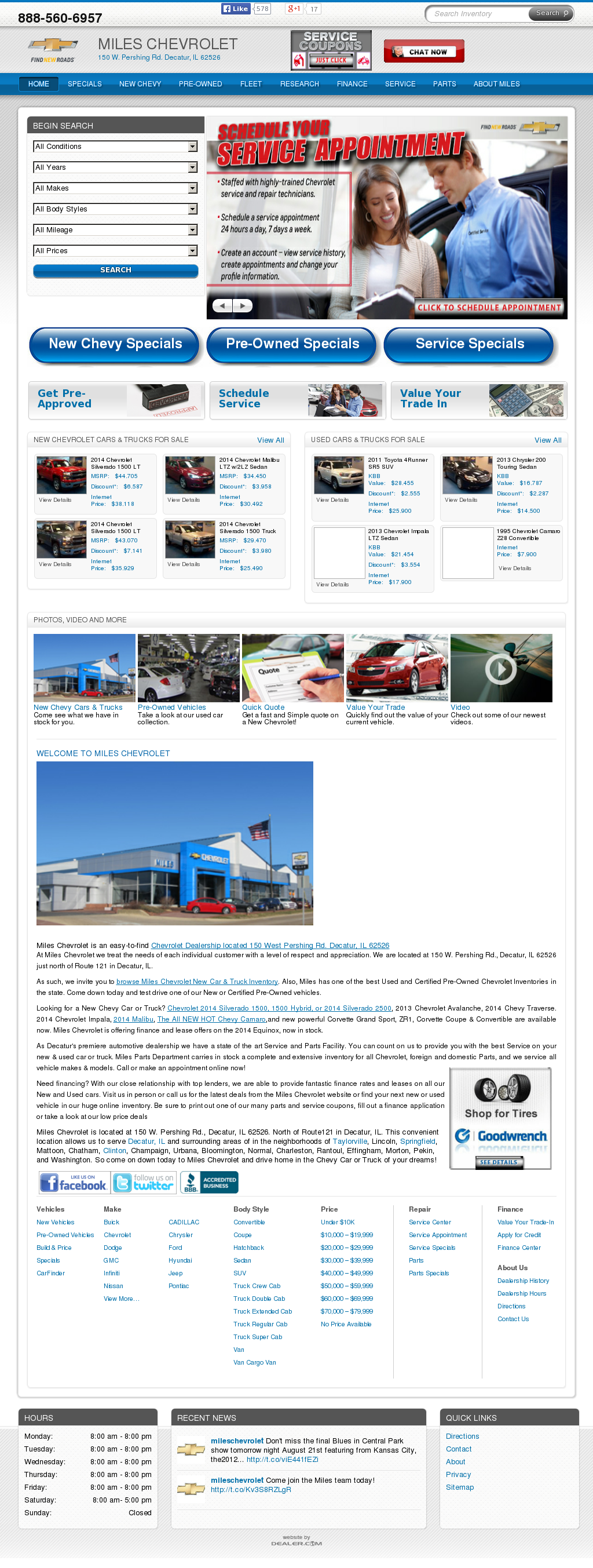 ford miles chevrolet in jackson next previous il sales service decatur of