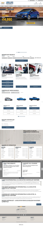 mileschevy dealership w decatur auto chevrolet il reviews maroa id car sales photos media miles