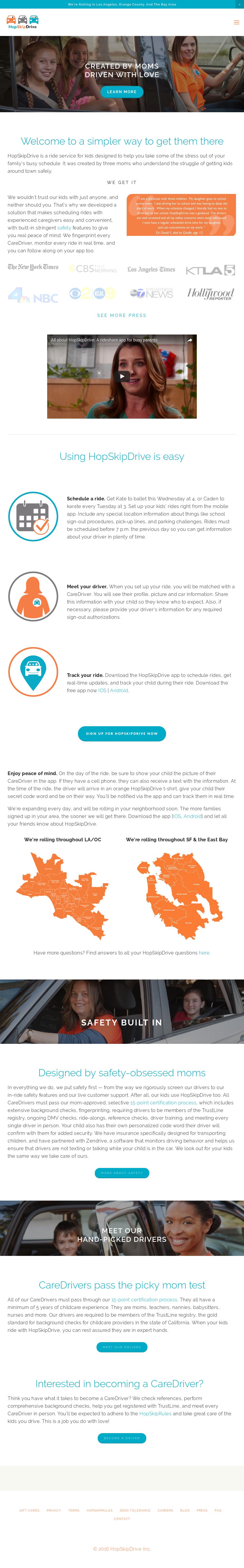 Hopskipdrive competitors revenue and employees company profile hopskipdrive website history 1betcityfo Images