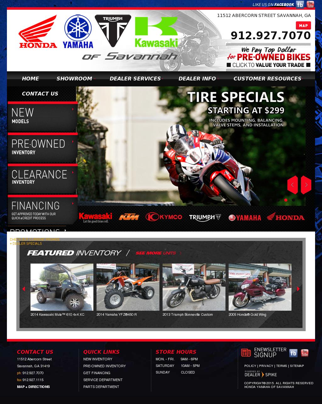 Honda Yamaha Of Savannah Competitors, Revenue And Employees   Owler Company  Profile