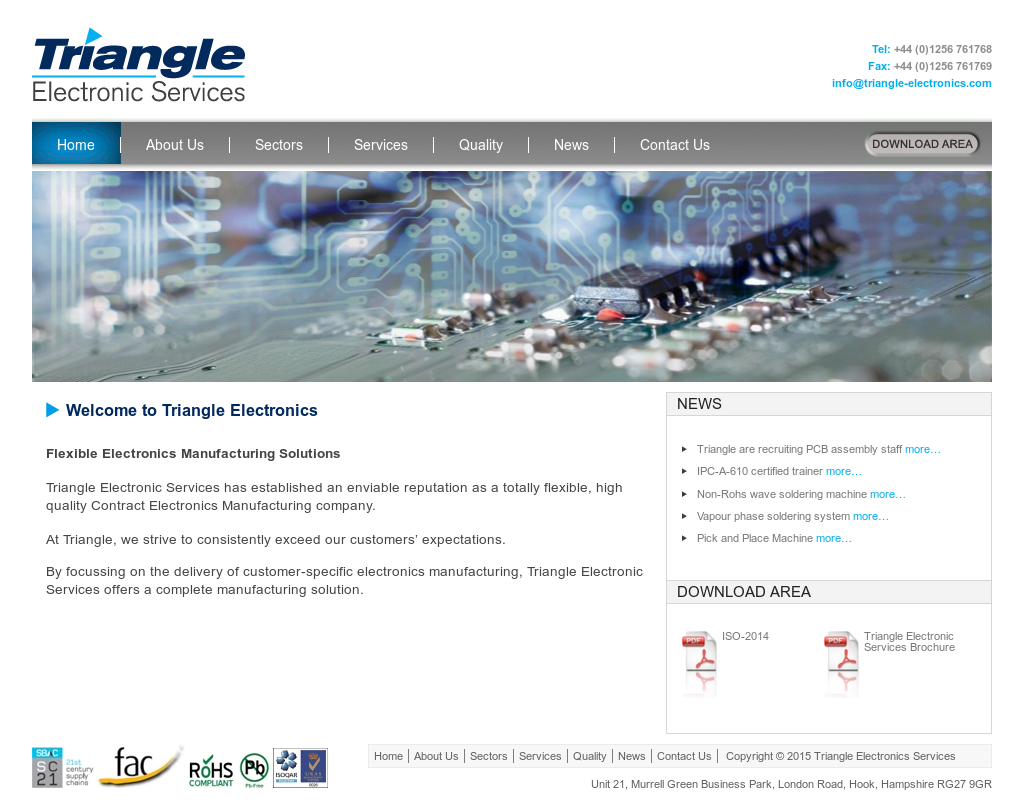 Triangle Electronics Services Competitors, Revenue and