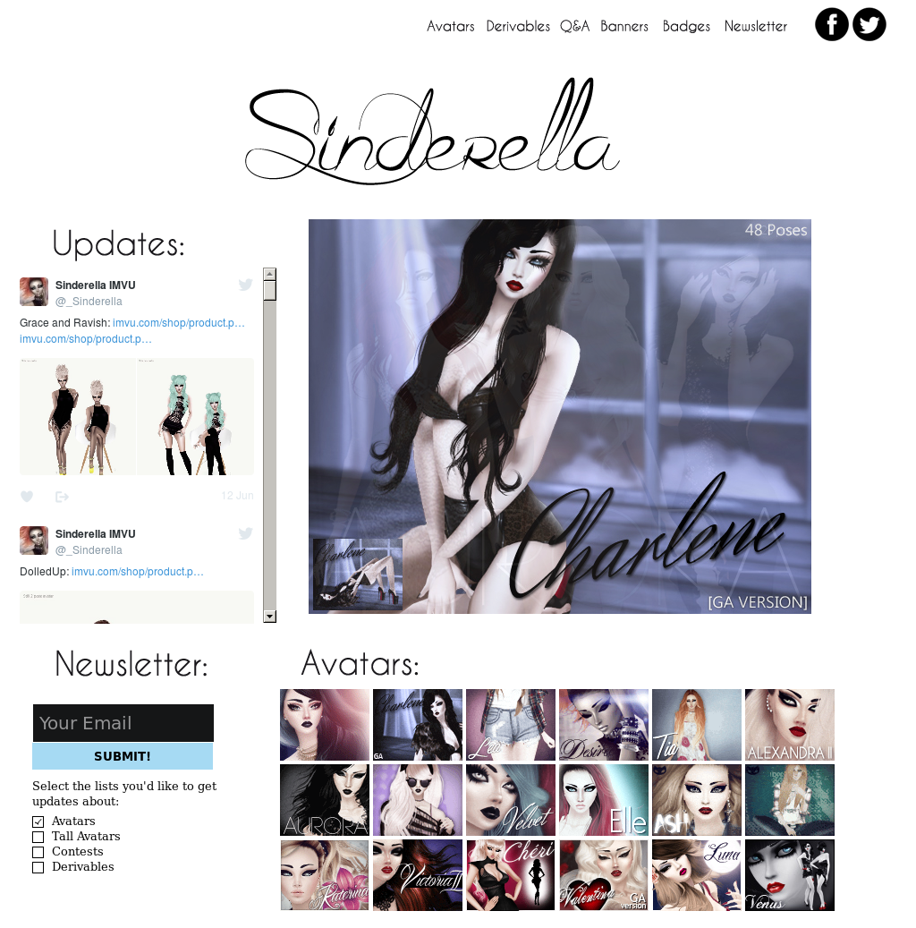 Sinderella Imvu Competitors, Revenue and Employees - Owler Company