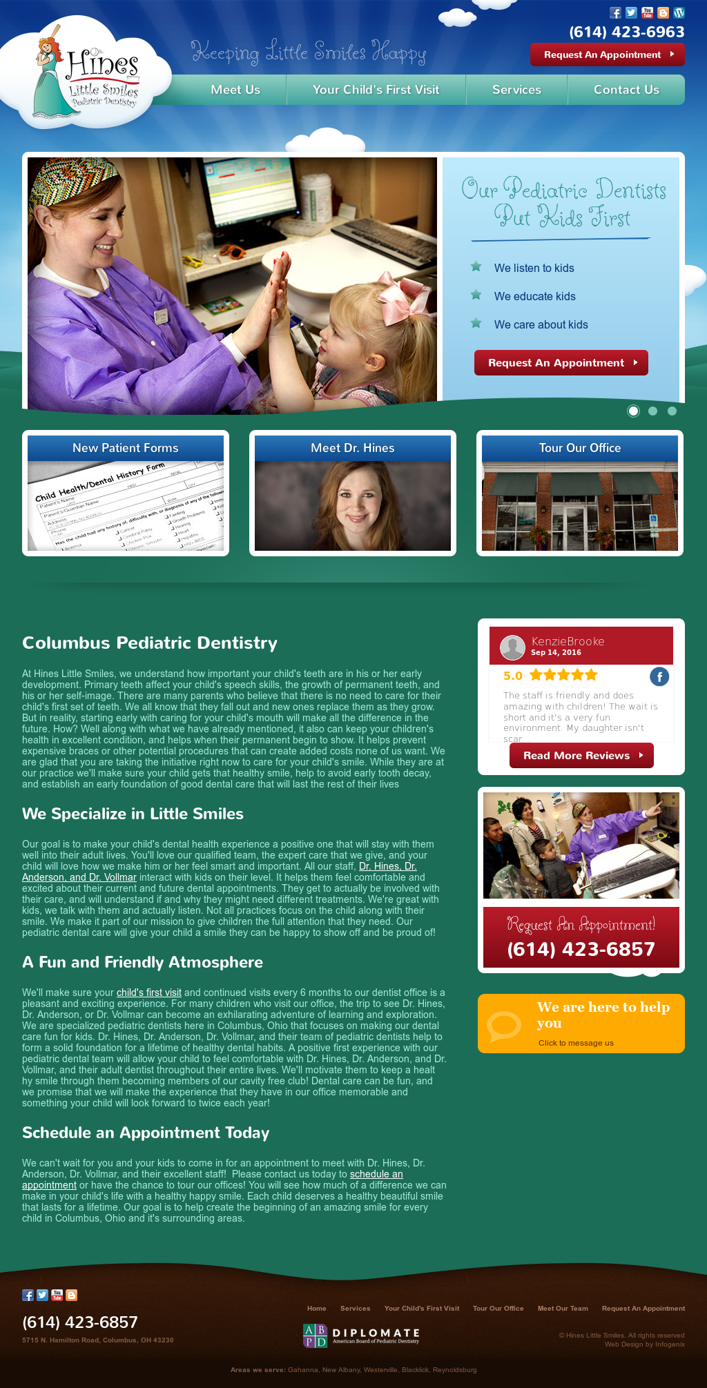 Hines Little Smiles Pediatric Dentistry Competitors, Revenue and
