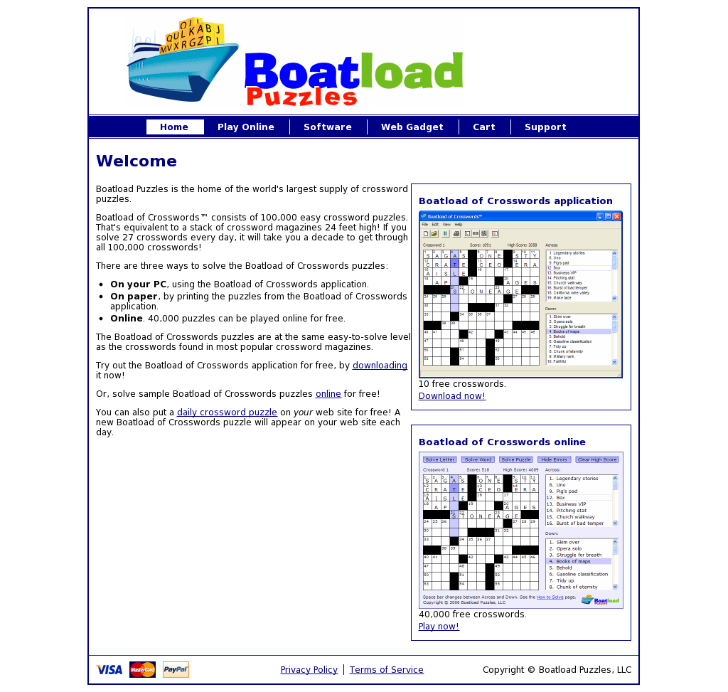 Boatloadofcrosswords Competitors Revenue And Employees Owler
