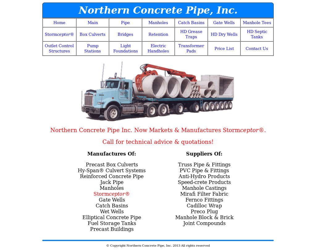 Northern Concrete Pipe Competitors, Revenue and Employees - Owler