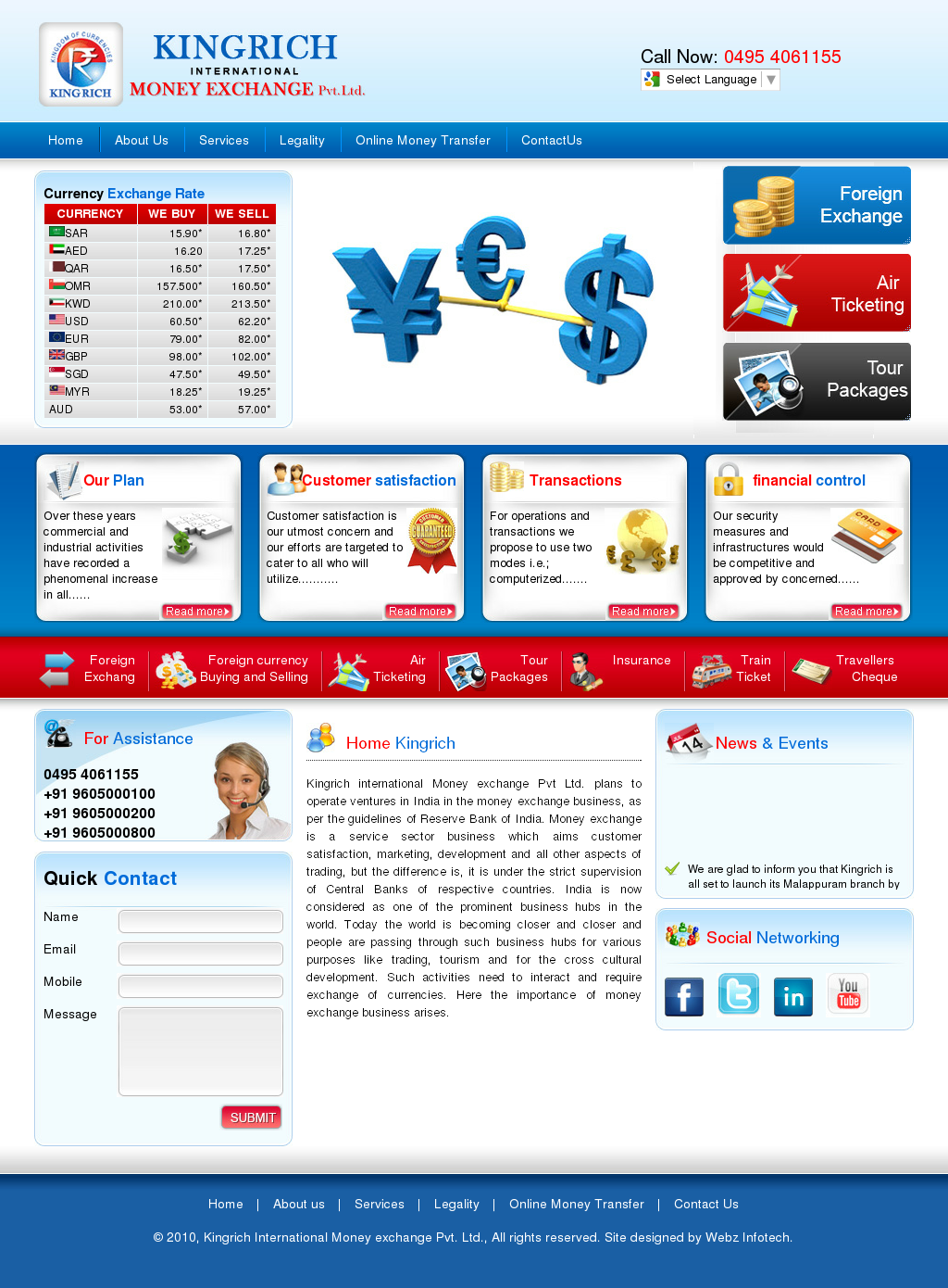 Kingrich International Money Exchange Compeors Revenue And Employees Owler Company Profile