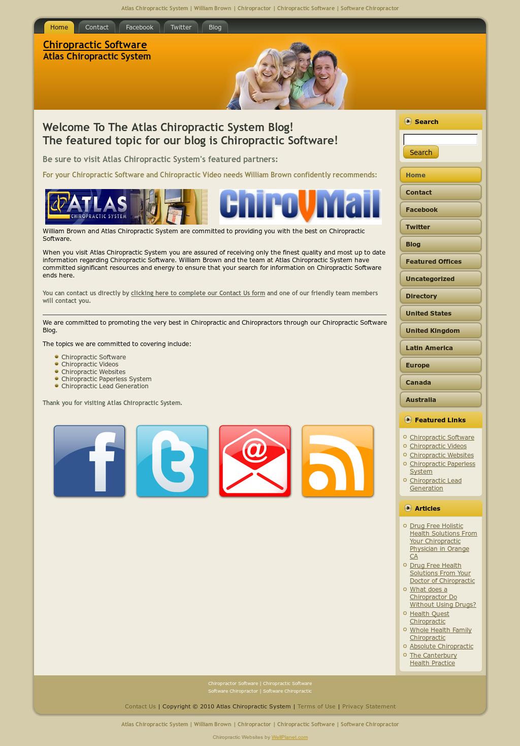 22+ Atlas Chiropractic Software Login Background
