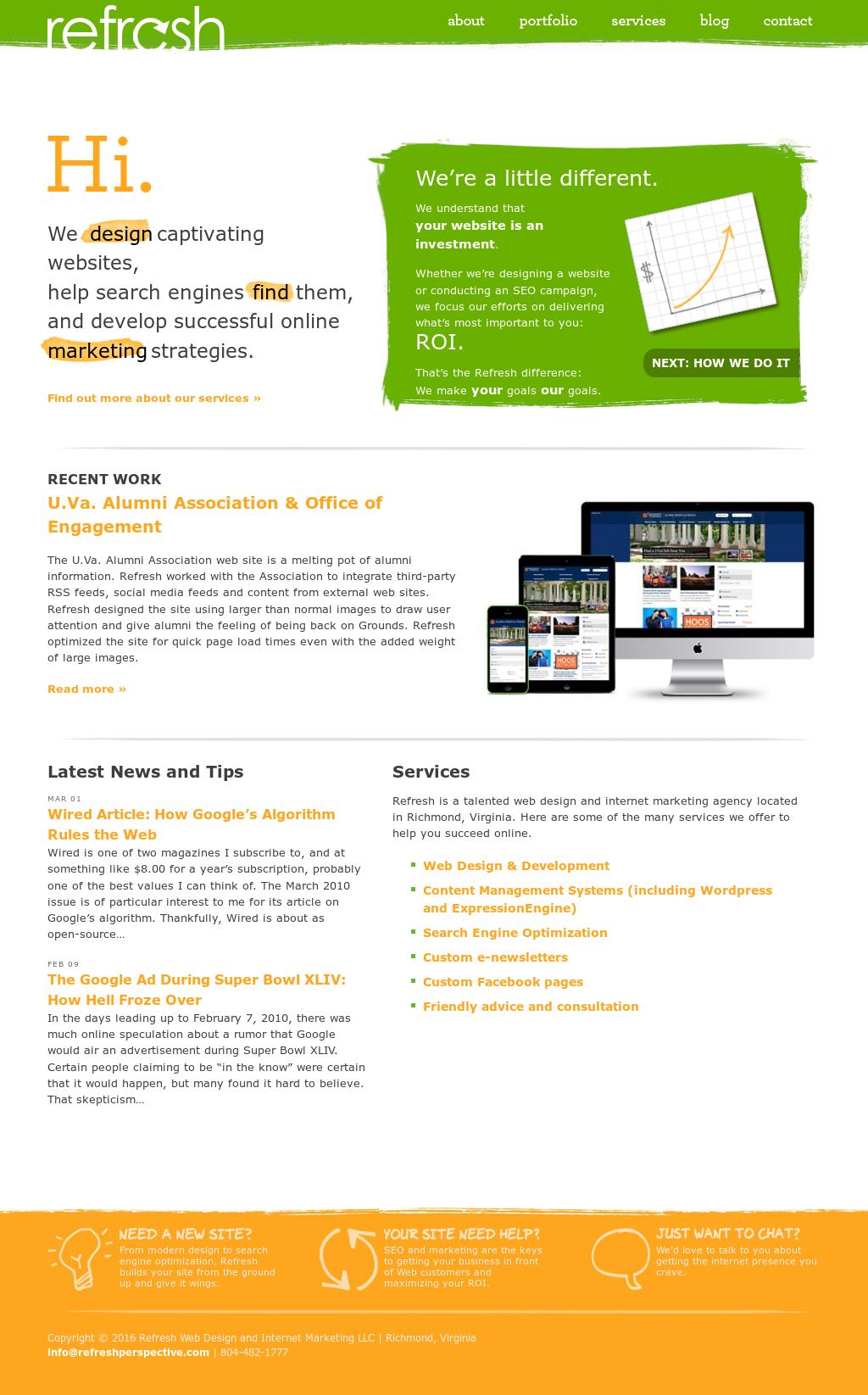 Refresh Web Design And Internet Marketing Competitors, Revenue and ...