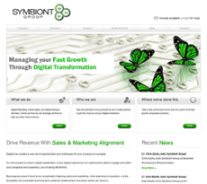 Symbiont Group website history