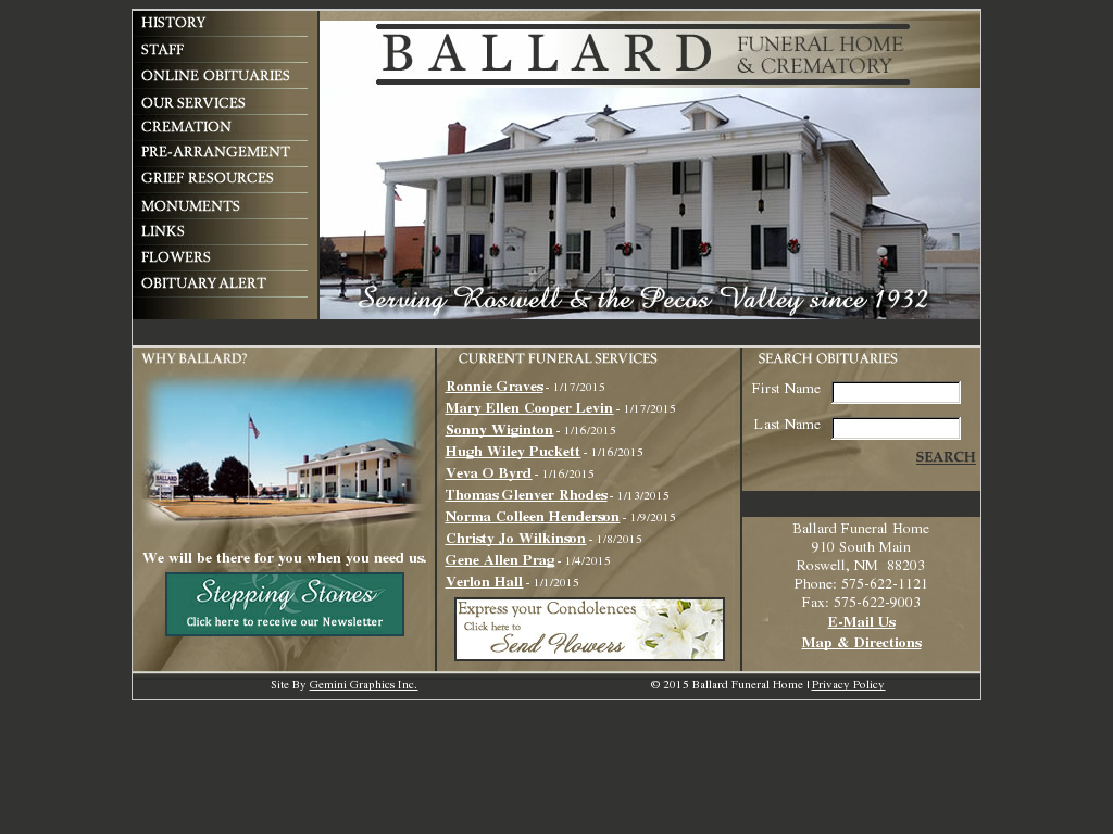 ballard funeral home competitors, revenue and employees - owler