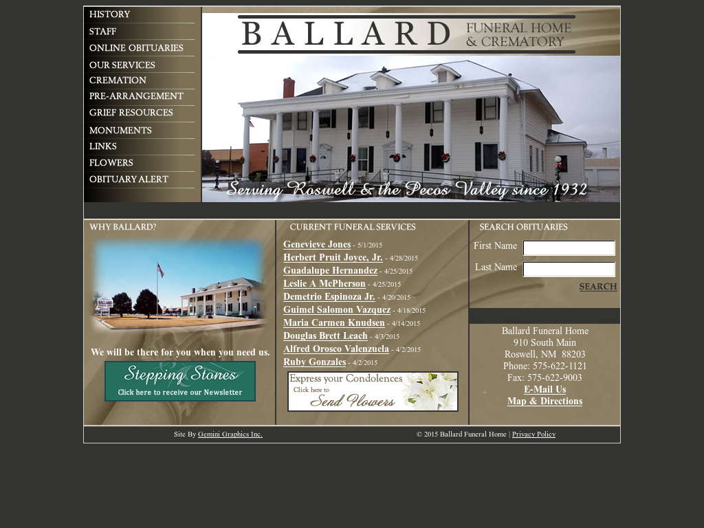 Ballard Funeral Home Competitors Revenue And Employees