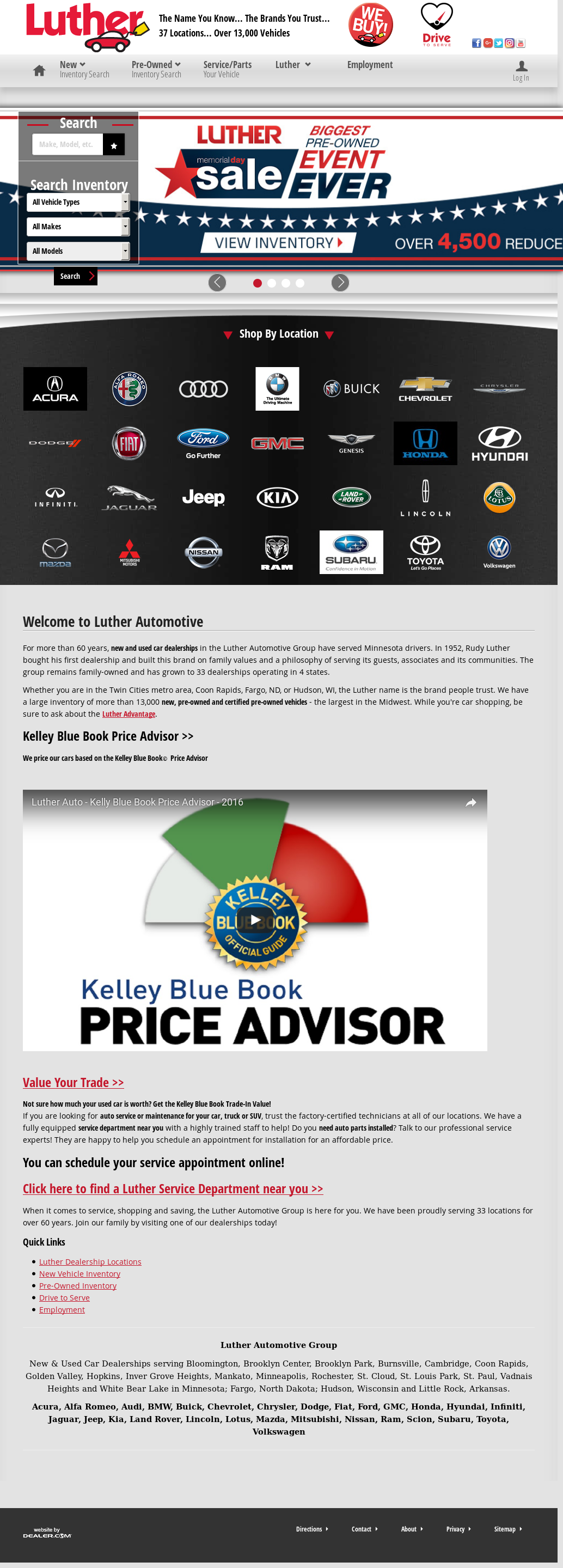 Owler Reports Luther Hudson Chevrolet Gmc Luther Automotive Targets Hlv Customers