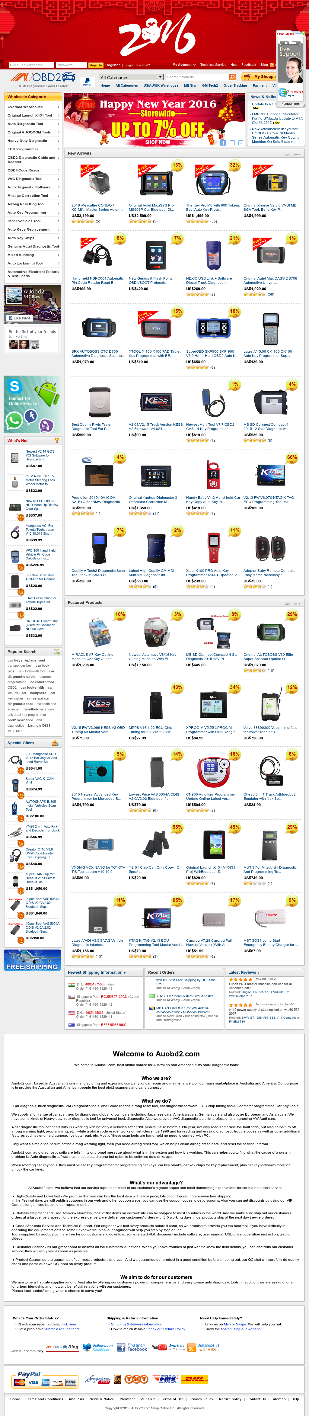 Owler Reports - Auobd2 com Shop Online Blog Free Download