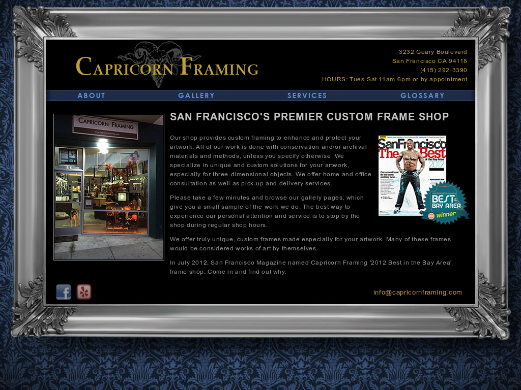 Contemporary capricorn framing inspiration picture frame ideas capricorn framing competitors revenue and employees owler company solutioingenieria Image collections