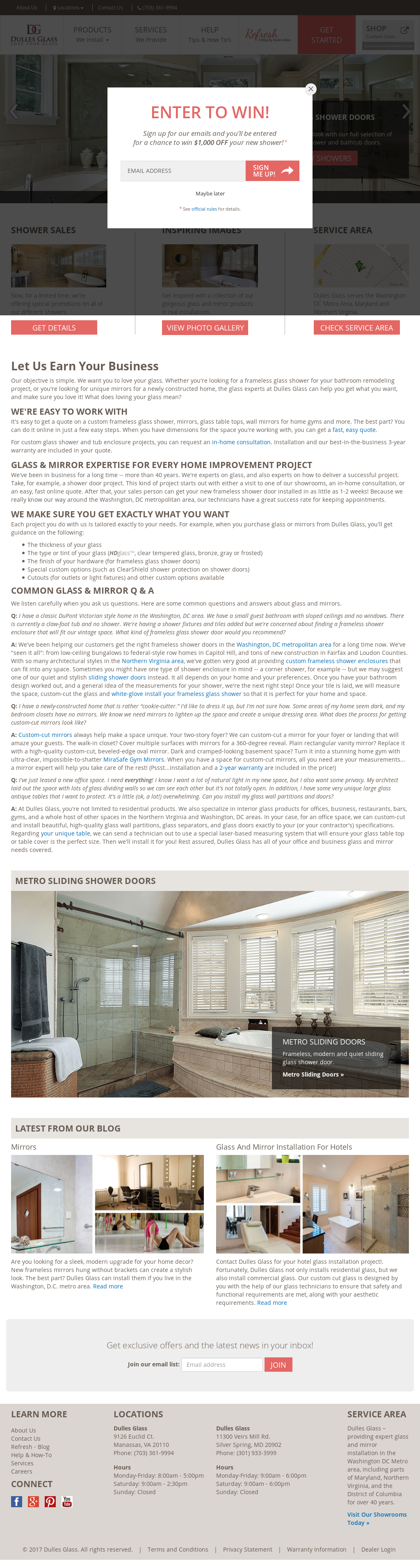 Dulles Glass And Mirror S Competitors Revenue Number Of Employees Funding Acquisitions News Owler Company Profile