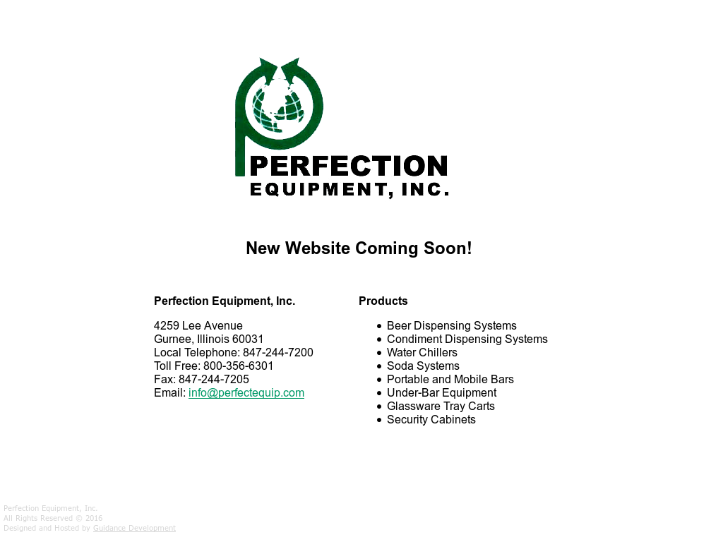 Perfection Equipment Competitors, Revenue and Employees