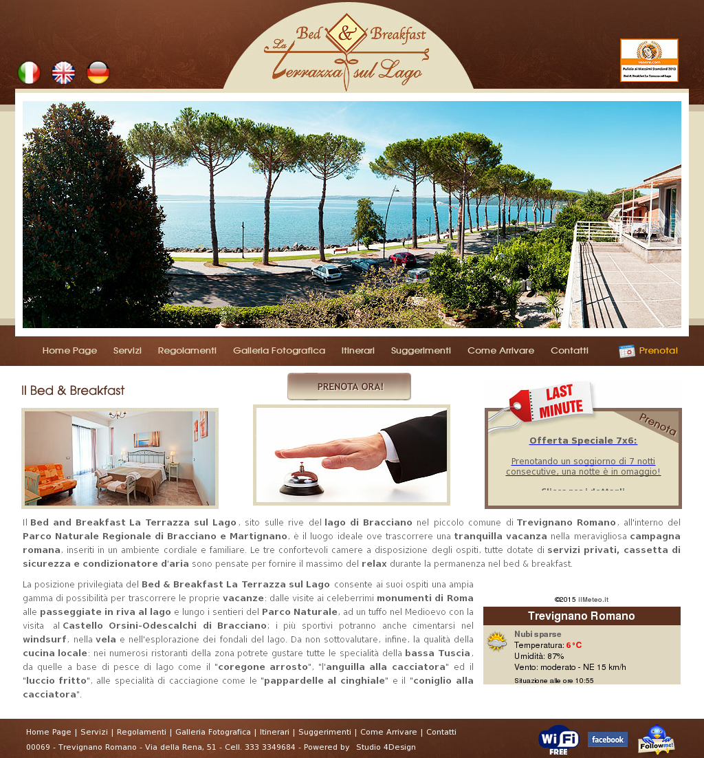 B&b La Terrazza Sul Lago Competitors, Revenue and Employees - Owler ...