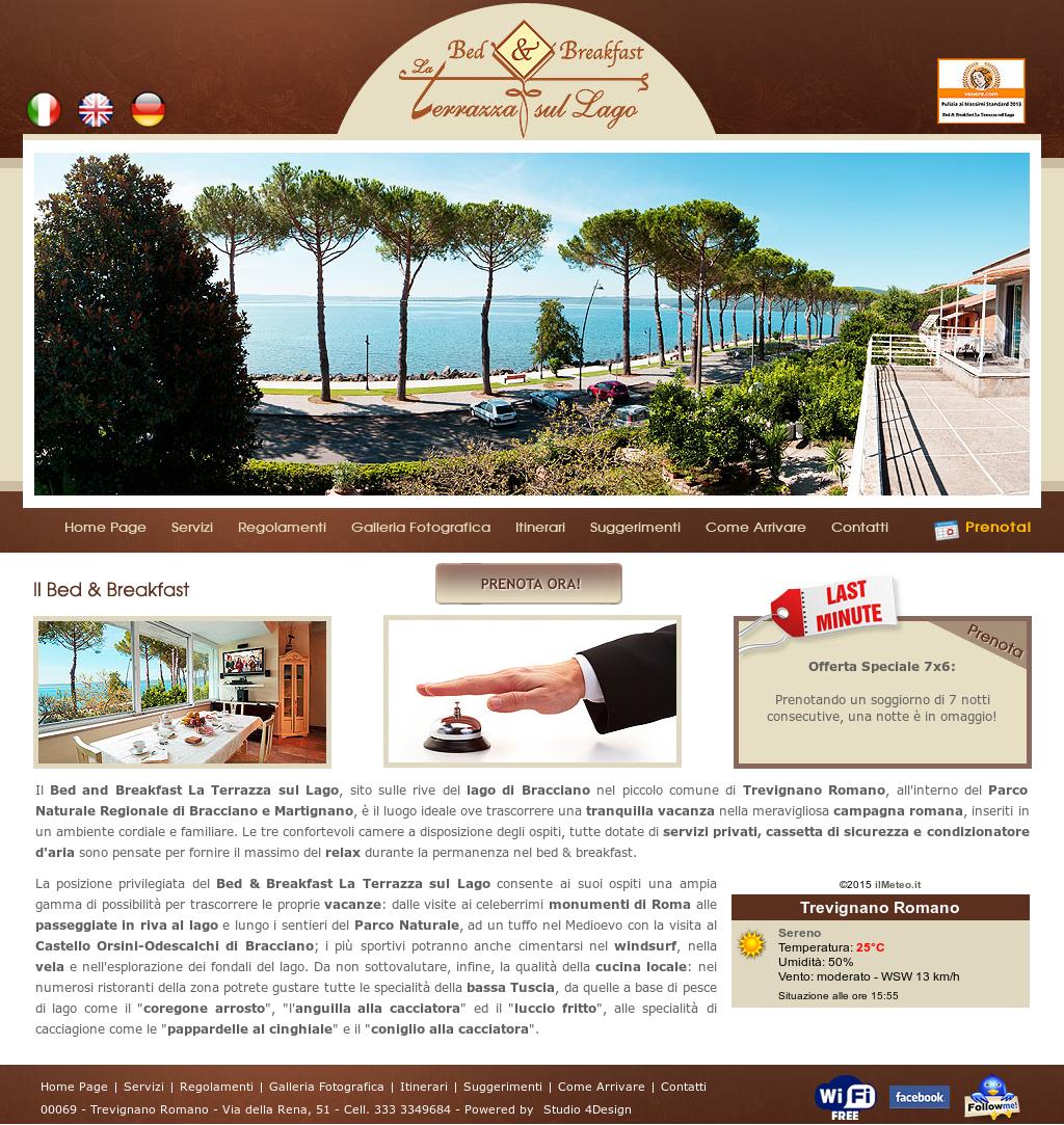 B&b La Terrazza Sul Lago Competitors, Revenue and Employees - Owler ...