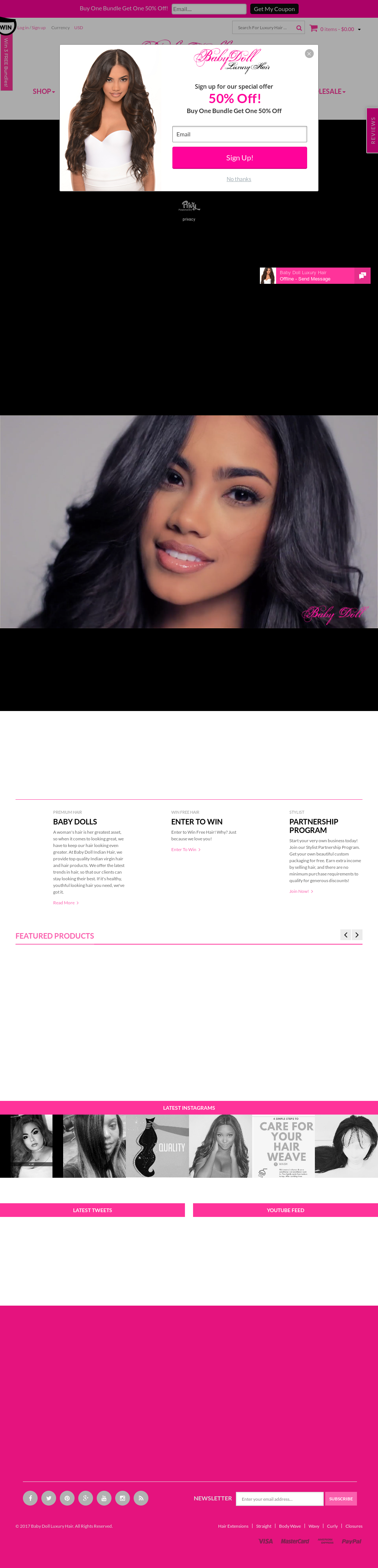 Baby Doll Luxury Hair Competitors Revenue And Employees Owler